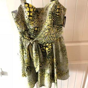 Guess Animal print dress - NWT size 4